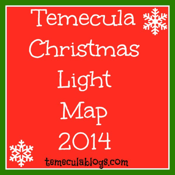 Map of Christmas Lights in Temecula 2014 | Temecula, CA Patch
