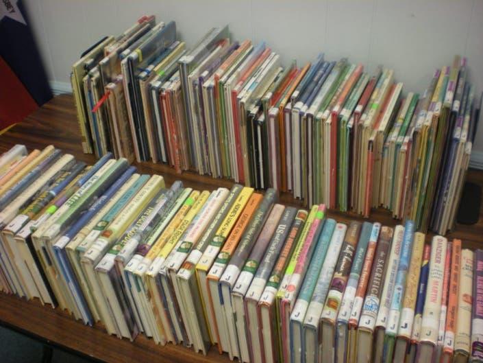 Book Lovers Trek to Woodbridge Library Book Sale