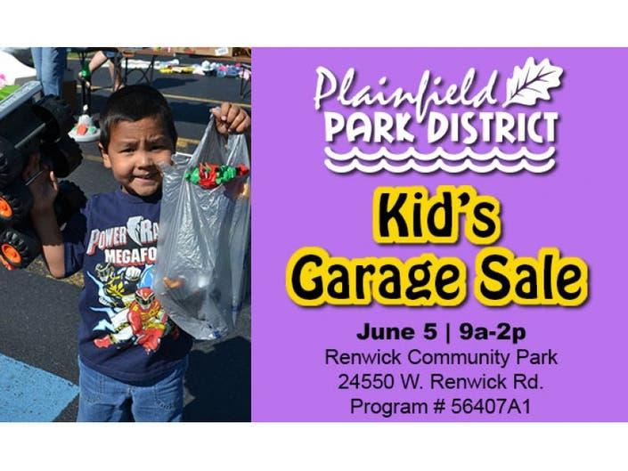 185d384c4 Turn that Clutter Into Cash at Plainfield Park District Kids Garage Sale  June 5!