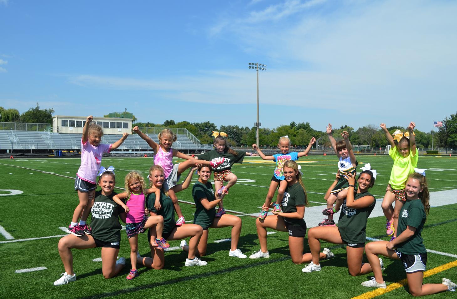 Stevenson High School Cheer & Poms Clinic And Charity