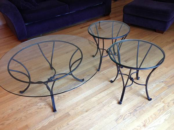Pier One Coffee Table And Two End Tables Huntley Il Patch