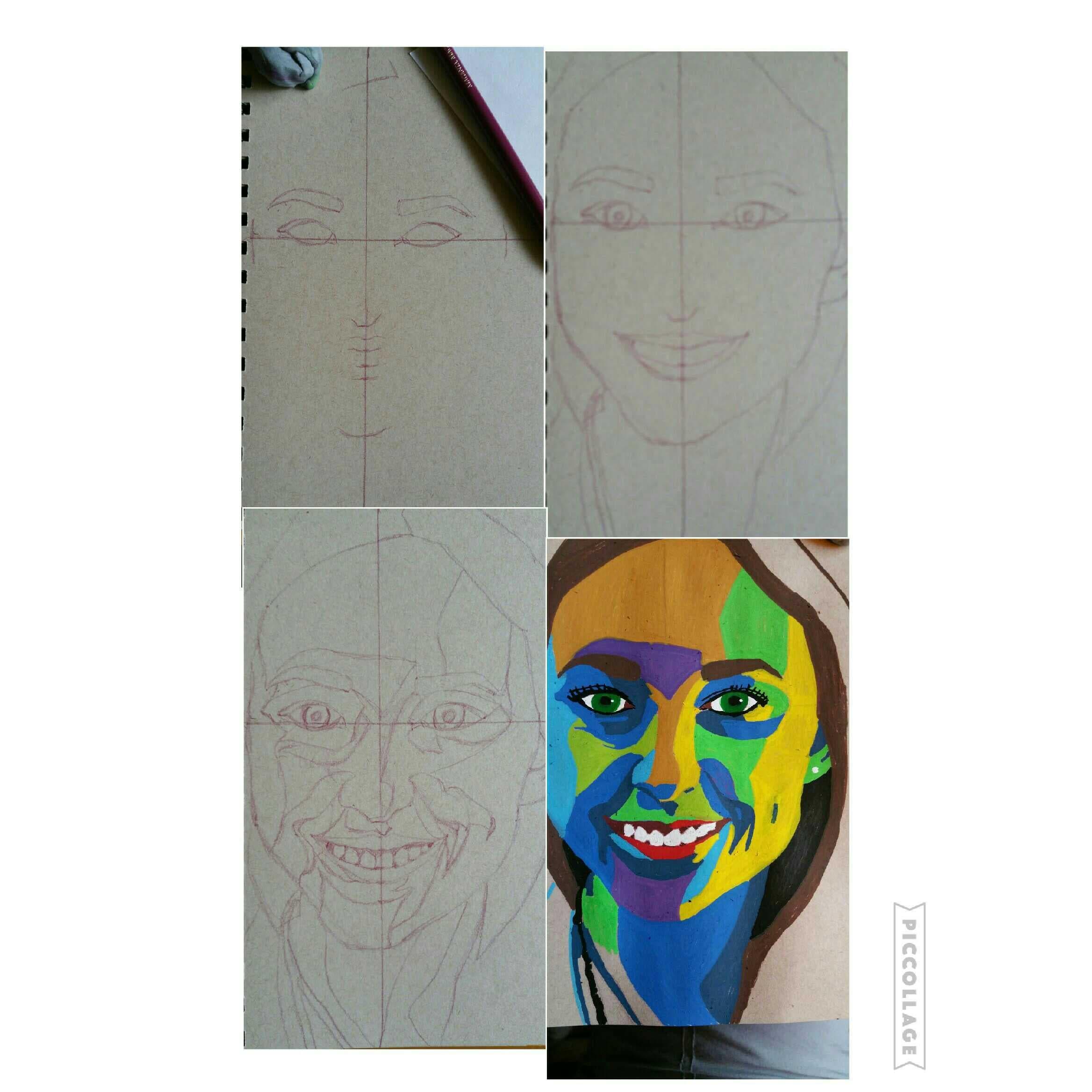Colorblock Portrait Workshop Bellevue Wa Patch