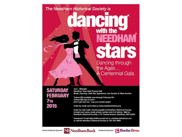 Tickets on sale now for the next Dancing with the Needham