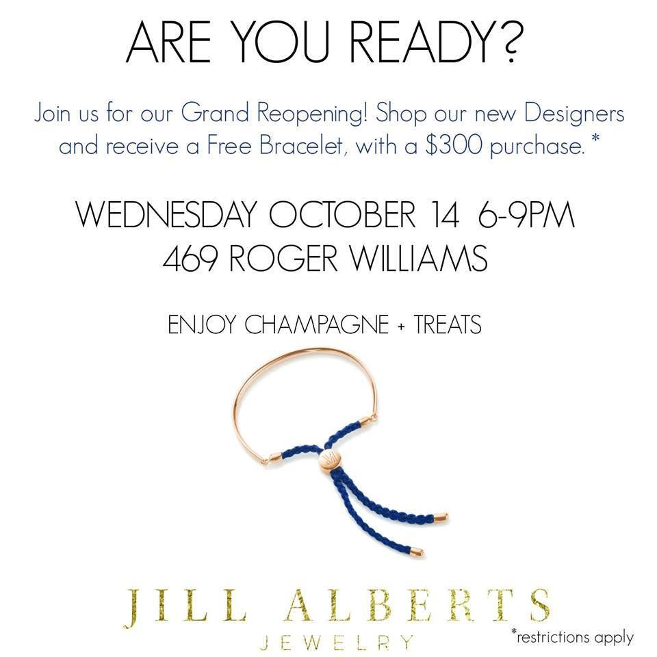 Grand Reopening Of Jill Alberts Jewelry