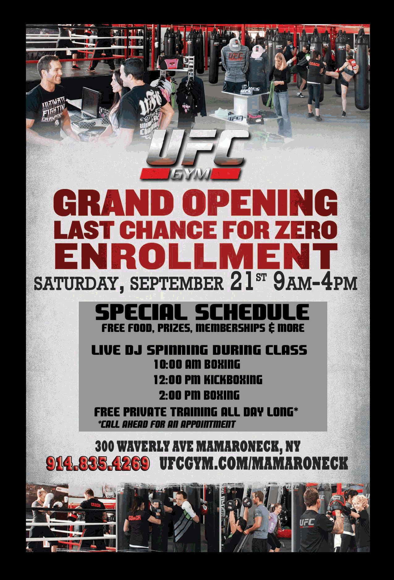 Grand Opening of UFC GYM | Larchmont, NY Patch