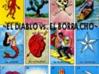 el diablo vs el borracho loteria art show music event echo park