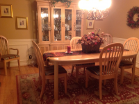 ... 8 Piece Bernhardt Dining Room Set And China Hutch 1 ...