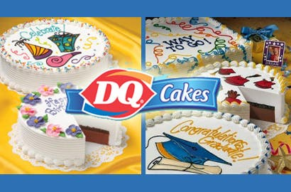 Stupendous Treat Dad Or Your Grad To A Dq Classic Ice Cream Cake Or Blizzard Personalised Birthday Cards Cominlily Jamesorg