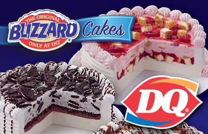 Treat Dad Or Your Grad To A DQ Classic Ice Cream Cake Blizzard At
