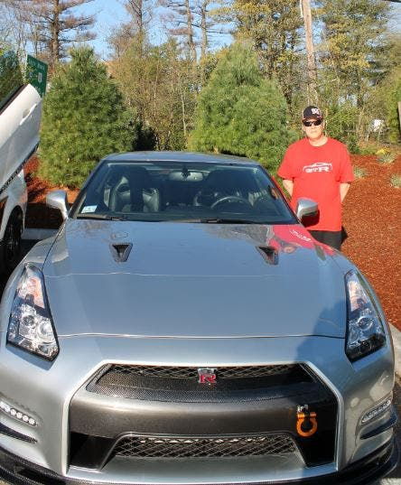Marlborough Resident Attends Herb Chambers' Cars & Coffee