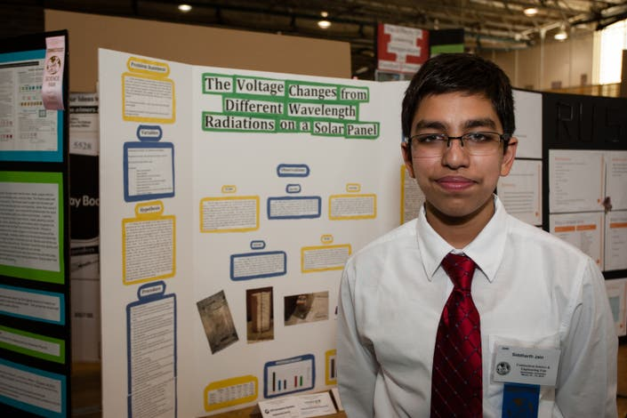 Shelton Student Recognized For Sustainable Science Fair