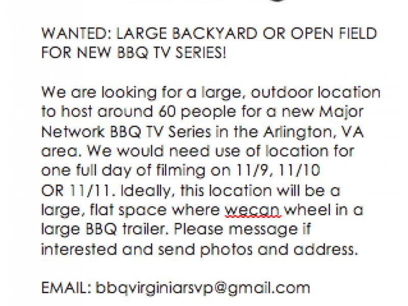 Backyard Bbq Arlington Va - House of Things Wallpaper