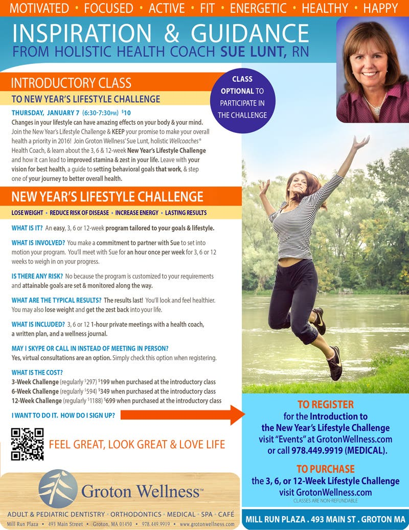 Introduction To New Year S Lifestyle Challenge Merrimack