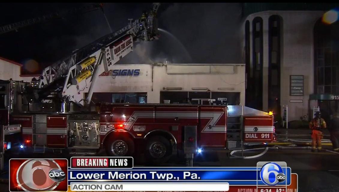 4-Alarm Blaze Shutters Montgomery Avenue   Narberth, PA Patch