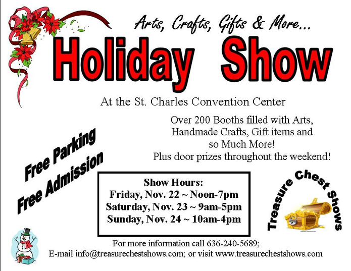 Holiday Craft Show & Expo   St. Charles, MO Patch