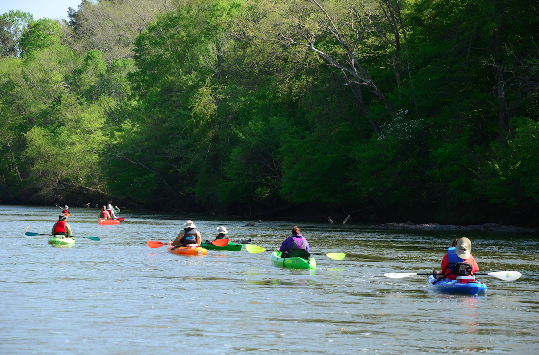 Paddle Through History On The Etowah River in Cartersville