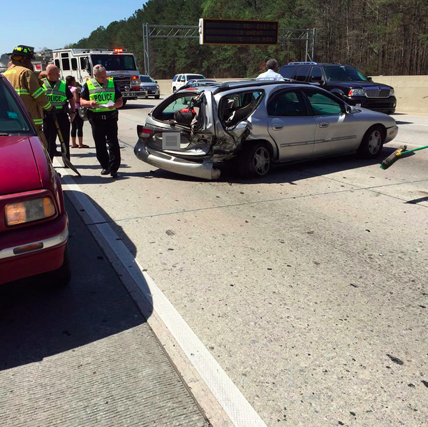 UPDATE: GA-400 at Windward Parkway Reopens After Accident | Johns