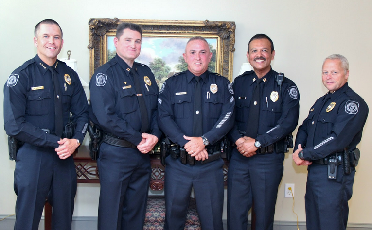 Canton Police Department Promotes Three Officers | Canton