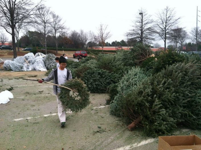 Roswell Recycling Center >> Recycle Your Christmas Tree on Saturday in Sandy Springs ...