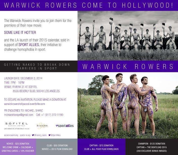 Warwick rowers bigger longer uncut