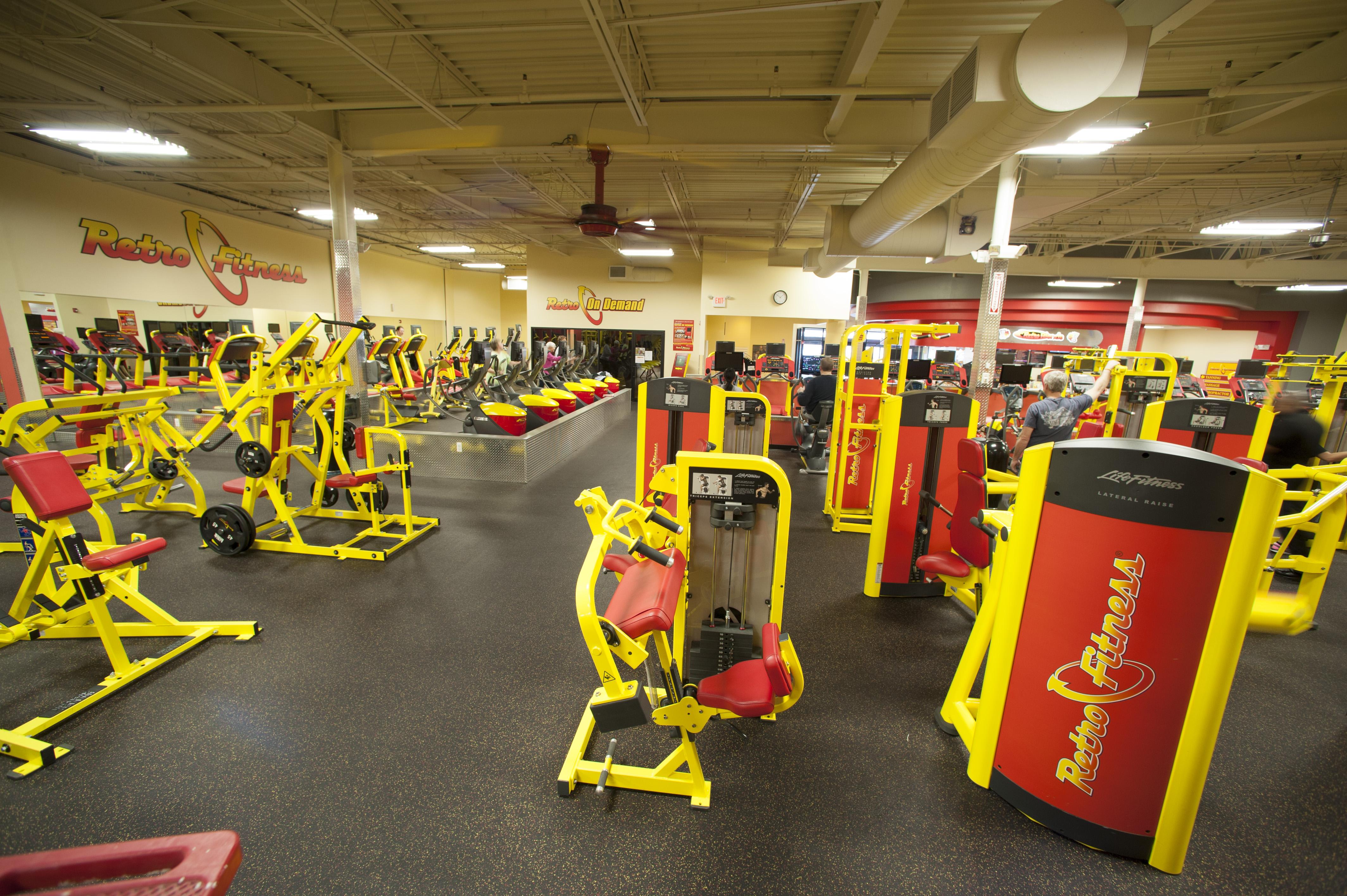 Find A Gym Retro Fitness