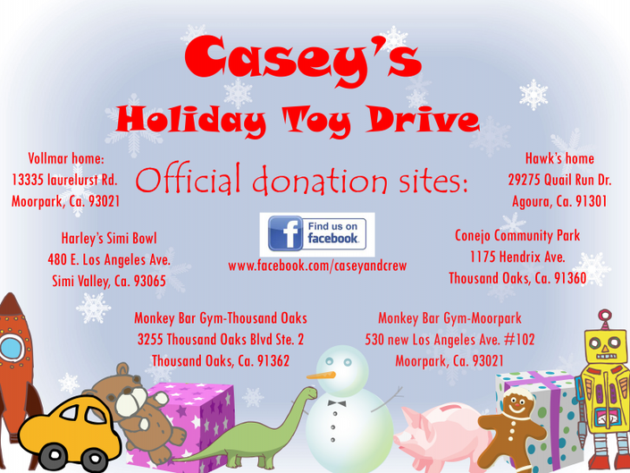 Casey's Holiday Toy Drive | Moorpark, CA Patch