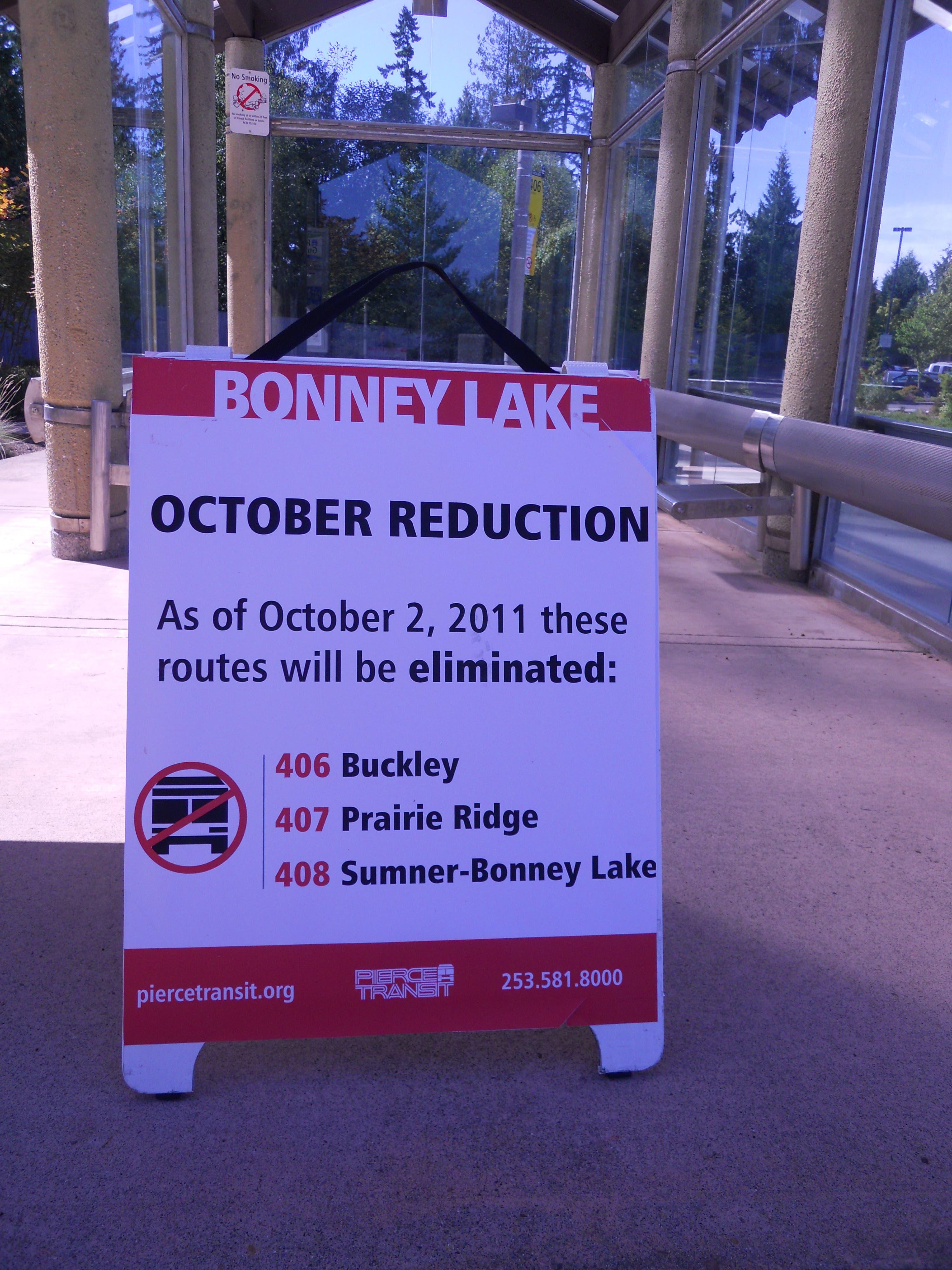 Residents Bid Bitter Adieus to Area Bus Service | Bonney