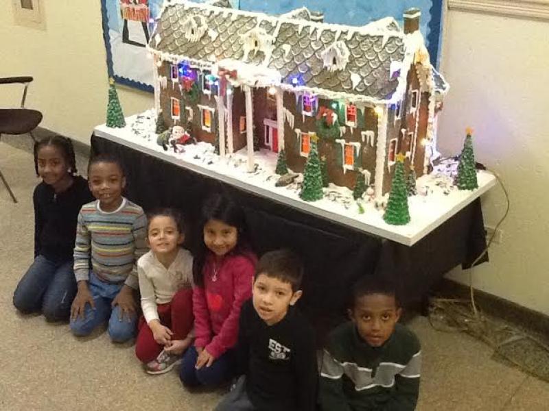 Whoopi Goldberg Donates Gingerbread House To Washington School