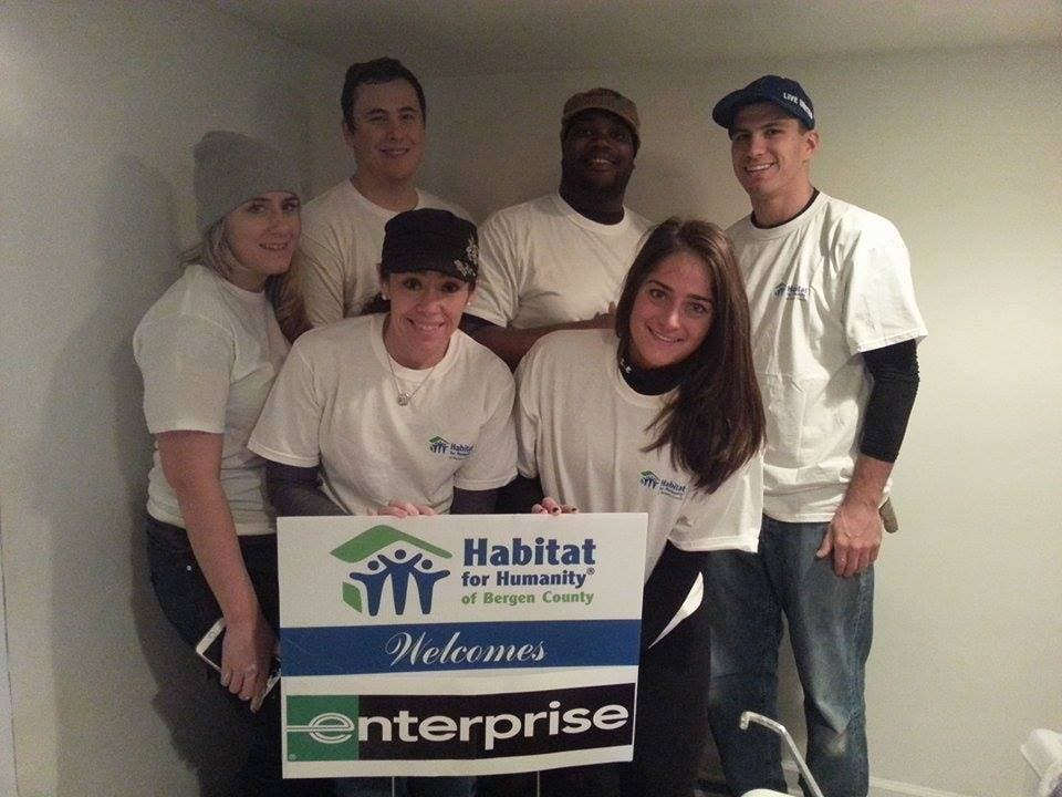 Enterprise Rent-A-Car In Northern New Jersey Joins Habitat