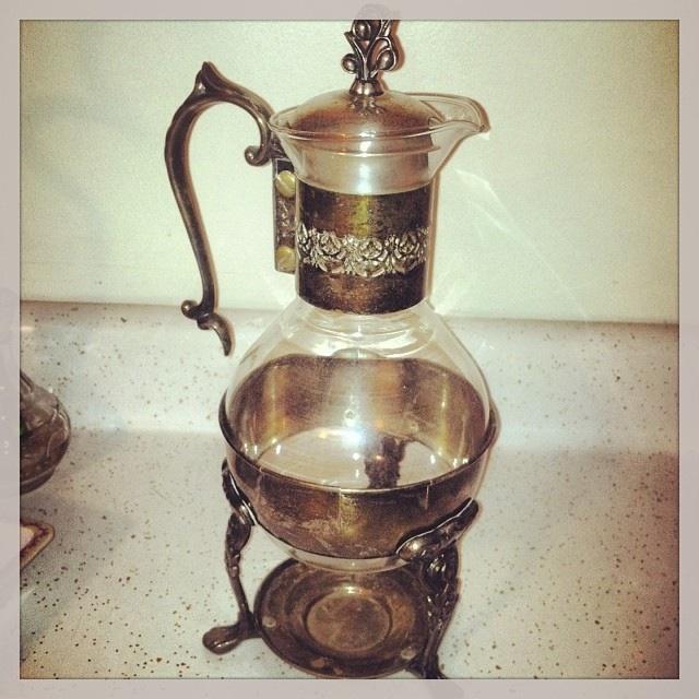 Vintage Coffee Time Carafe