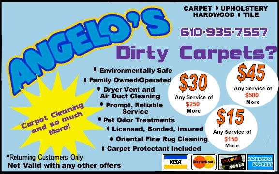Carpet Cleaning Coupon for King of
