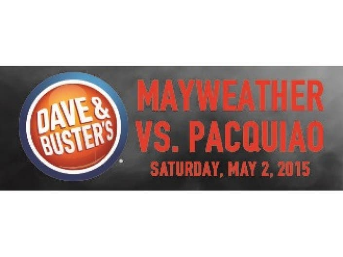 Mayweather vs  Pacquiao at Dave & Buster's | Pearl River, NY Patch