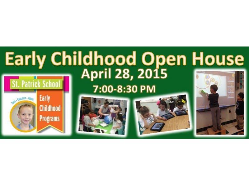 St Patrick School Smithtown S Early Childhood Open House