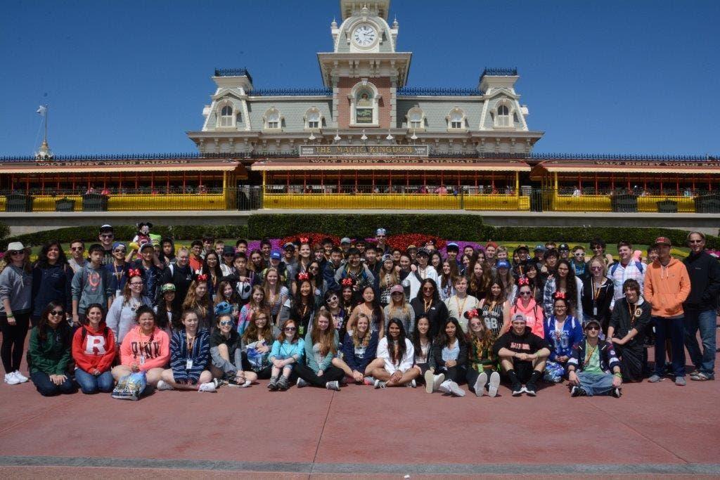 Montville High School Musicians Perform At Disney's Epcot