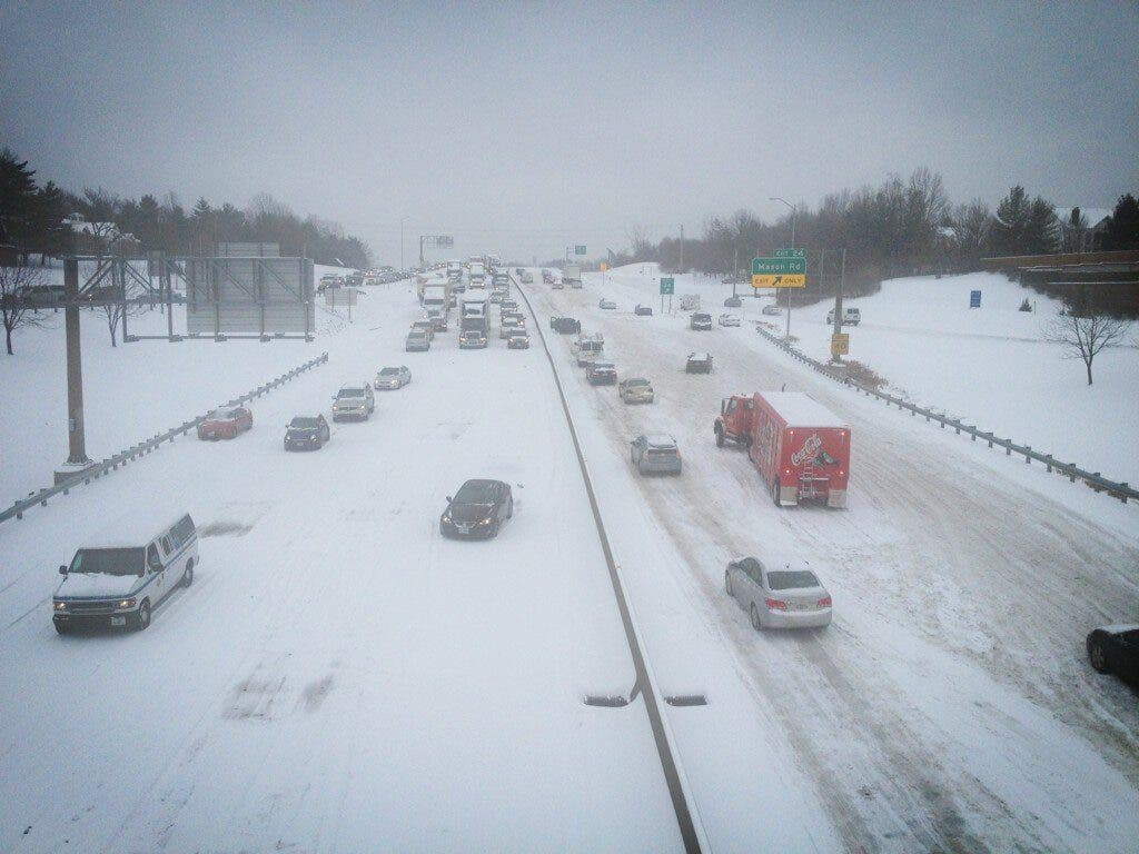 Multiple Accidents Bring Traffic to a Standstill on I-64/Highway 40
