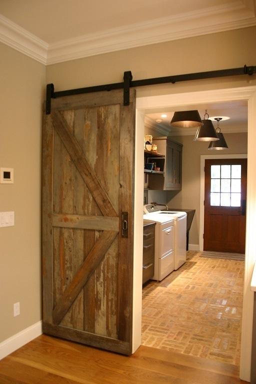 Antique reclaimed plank doors