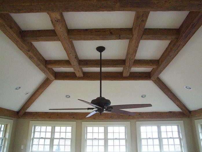 Reclaimed Barn Wood Decor Ceiling