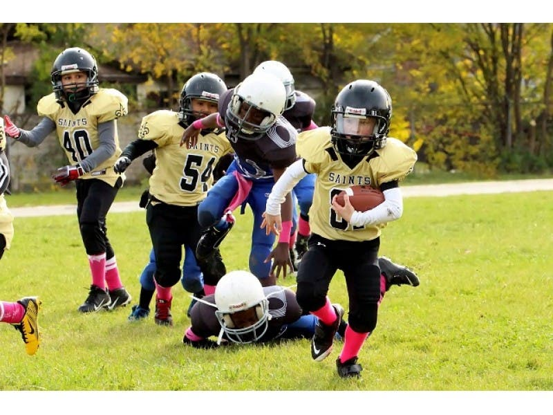 6ade5ebe8 Plainfield Saints Host Walk In Registration for Championship Youth Football  and Cheer Programs
