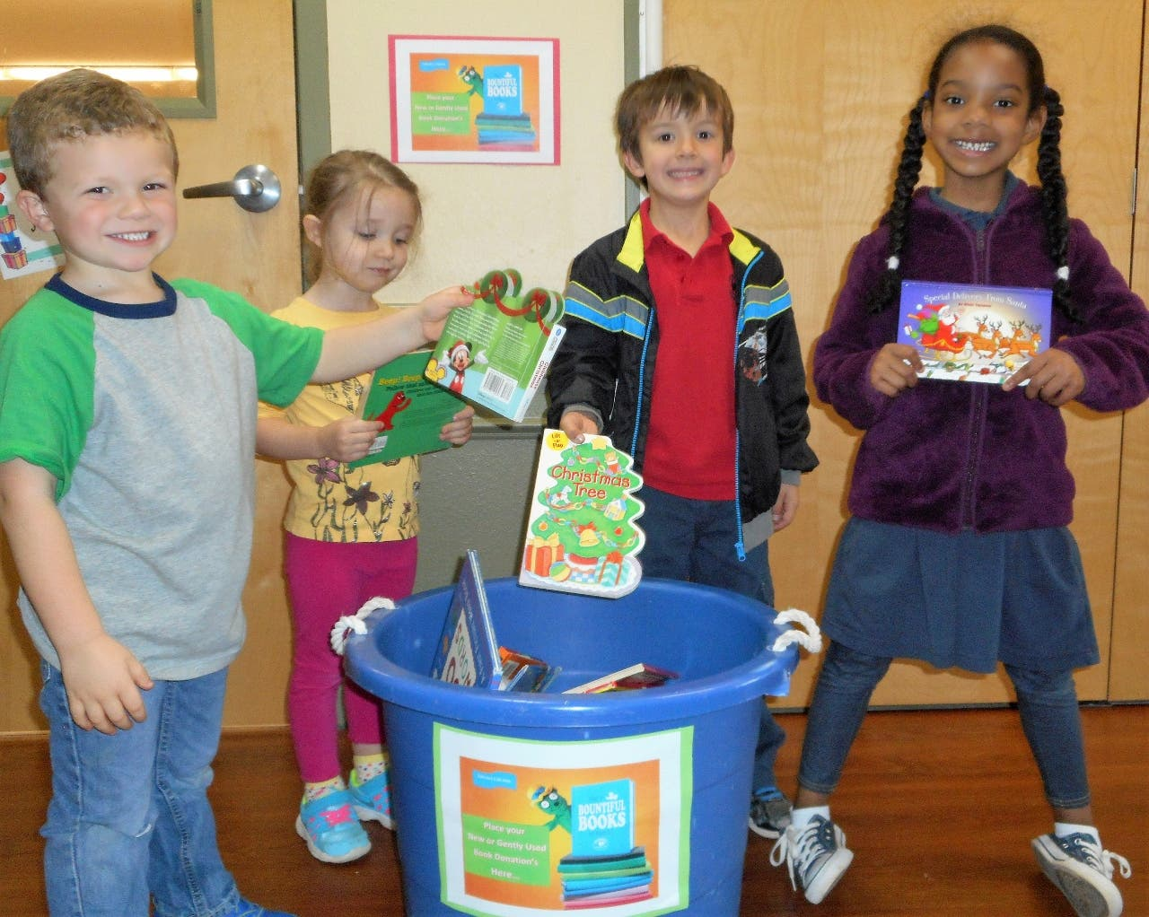 Primrose Students Donate 248 Books To Must Ministries