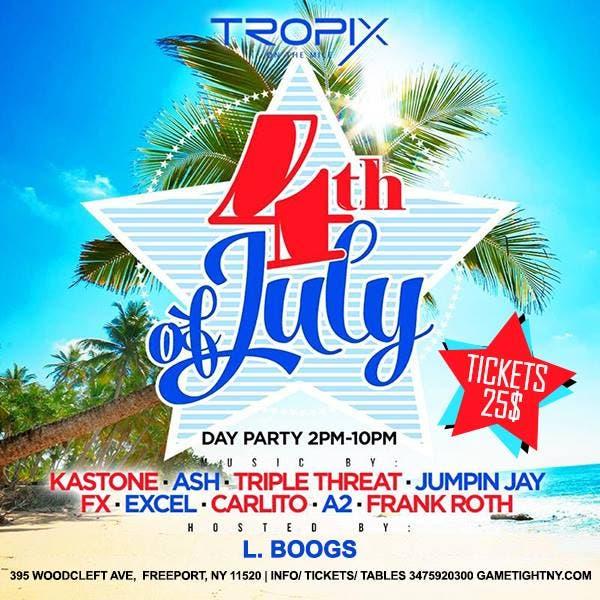 July 4th 2016