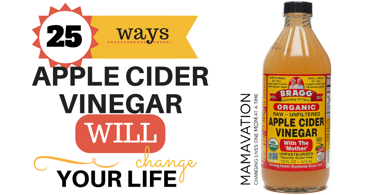 25 WAYS APPLE CIDER VINEGAR WILL CHANGE YOUR LIFE | Ramsey