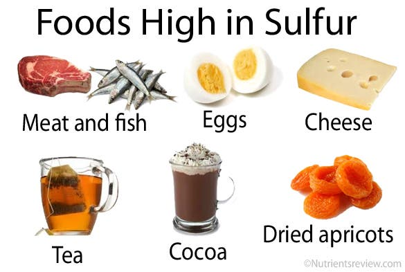 how to get more sulphur in your diet