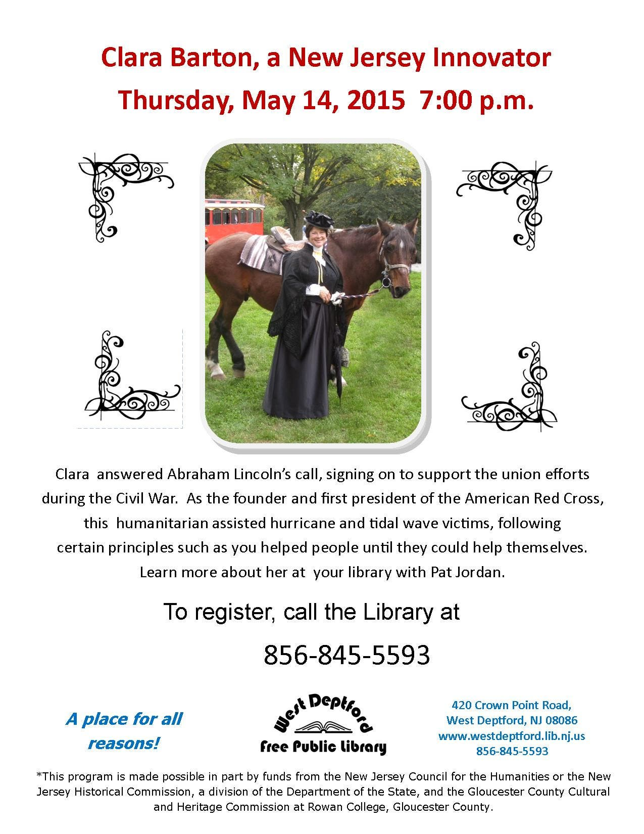 Free Talk Thursday May 14th In >> West Deptford Free Public Library West Deptford Nj Patch