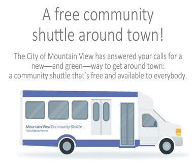 Sylvan Park Halloween Mountain View 2020 Mountain View Community Shuttle Launches January 9 | Mountain View