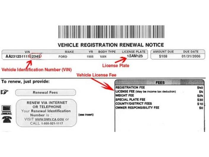 Vehicle Registration Renewal Ca >> Ca Dmv Motorcycle Registration Fee Disrespect1st Com