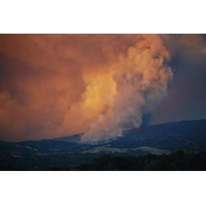 Rocky Fire Containment Up Acres Burned Up Too Napa