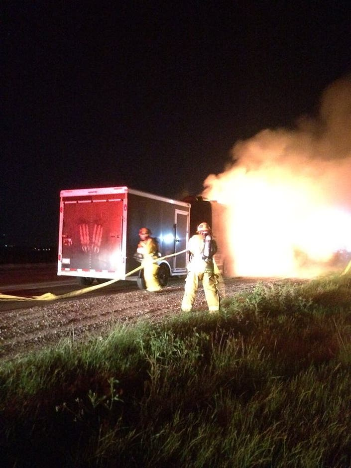 Rockabilly Band S Bus Catches Fire On I 5 In North County