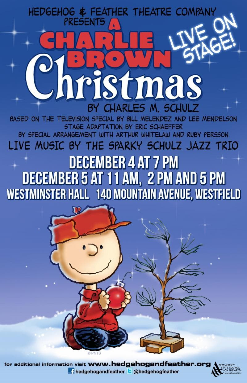 A Charlie Brown Christmas Live On Stage.A Charlie Brown Christmas Live On Stage In Westfield