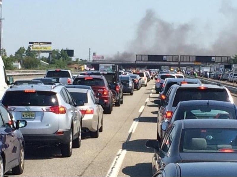 UPDATE: Dump Druck Driver Identified In Fiery NJ Turnpike