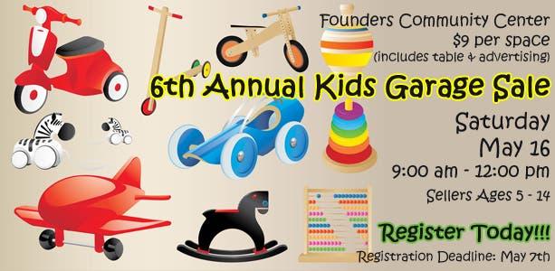 fe441fe35 6th Annual Kids Garage Sale @ Frankfort Park District | Frankfort ...